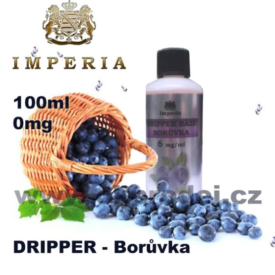 Imperia eNicoPharm DRIPPER BÁZE BORŮVKA - 100ml - 0 mg